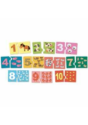 J'apprends  les chiffres, jeu de numération*