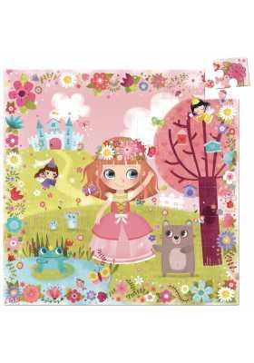 Princess of flowers puzzle (56 pcs)