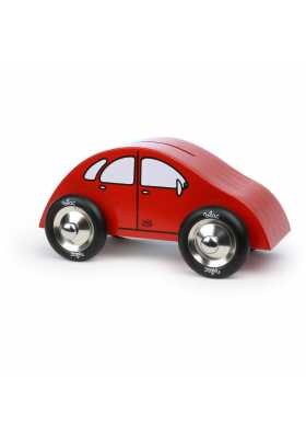 Tirelire voiture rouge