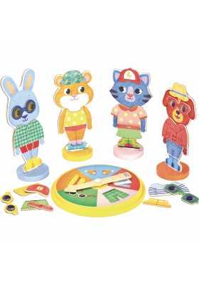 Animals bingo game