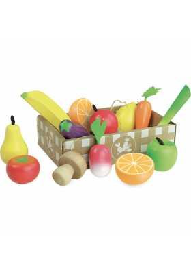 Set de fruits et légumes Jour de Marché