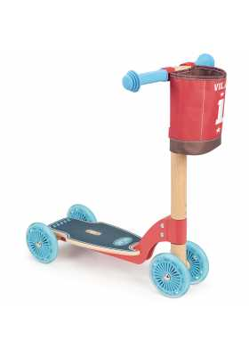 Wooden scooter