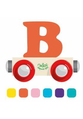 Wagon lettre B