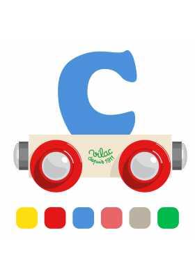 Wagon lettre C