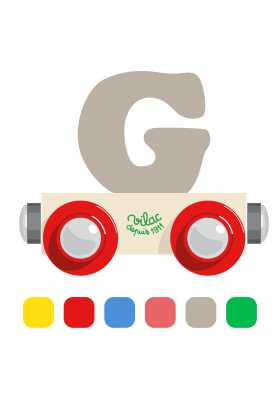 Wagon lettre G
