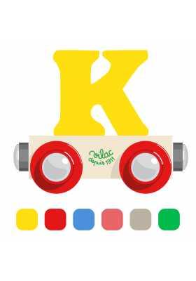 Wagon lettre K