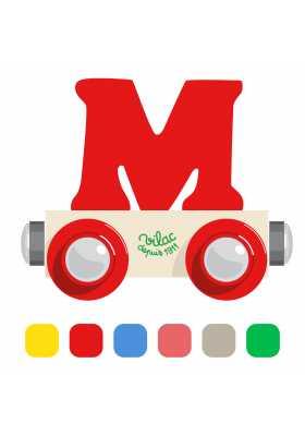 Wagon lettre M