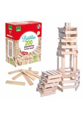 Batibloc classic - 200 planchettes en bois*