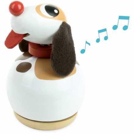 Boite à musique Toutou le chien