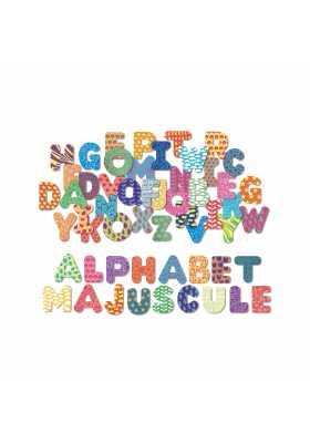 Magnets Alphabets majuscule 56 pcs