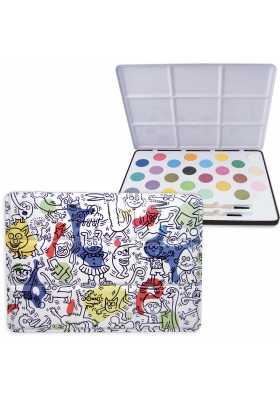 Boîte de peinture métal Keith Haring *